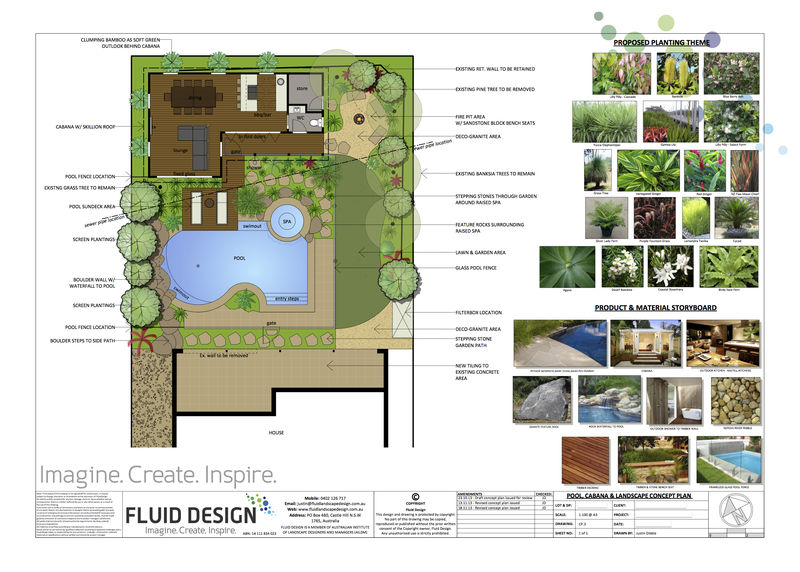Architectural 3d rendering landscape design pool design for Landscape design jobs sydney